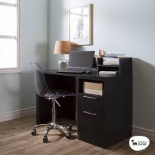 home office desk black. Office Desk With Drawers Black Oak Computer Study Table Laptop Home NEW M