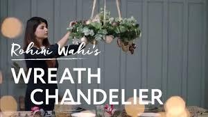 house of fraser mi casa mi casa how to make a wreath chandelier rohini wahi