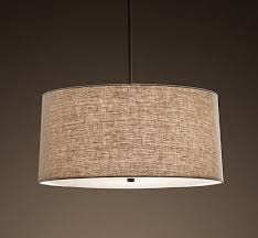 pendant lighting drum shade. impressive linen pendant light confortable drum shade unique decor ideas lighting h