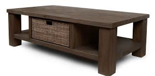 Furniture, Buy Brown Rectangle Rustic Solid Wood Coffee Table Designs Ideas  With Storage: Buy