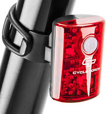 Cycle Torch <b>USB Rechargeable Bike Tail Light</b> MicroBot LED ...