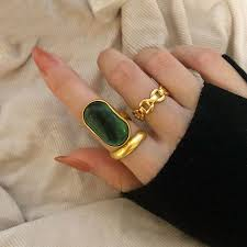 top 10 green <b>finger</b> ring brands and get <b>free shipping</b> - a65
