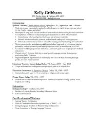Kindergarten Teacher Resume Samples – Lespa