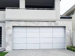 inspirations garage door aluminium posite panels