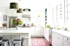 rug in kitchen decorating with flat woven rugs