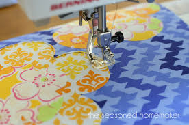 How To Applique With Regular Sewing Machine