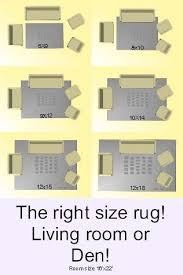 how to choose the right rug size wayfair for living room rug size