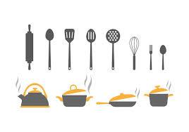 kitchen tools vector. Exellent Tools Free Kitchen Utensils Vector Icons On Tools