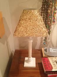 glitter lamp diy