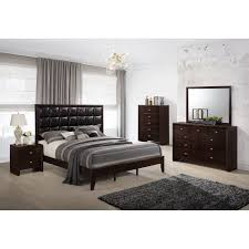 Houston Bedroom Furniture Luxury 5pc Bedroom Sets Houston Faux Leather Upholstery Panel Bed