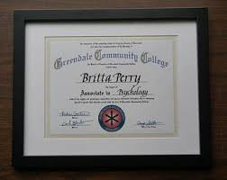 college diploma  greendale community college diploma