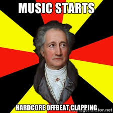 music starts hardcore offbeat clapping - Germany pls | Meme Generator via Relatably.com