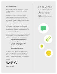 Big Four Cover Letter 10 Cover Letter Templates And Expert Design Tips To Impress