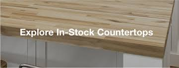 check our inventory of ready to ship butcher block