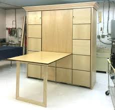 queen wall bed desk. Murphy Bed With Desk 2 King Maple Horizontal Queen . Wall