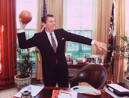 ronald reagan oval office. wonderful ronald ronald reagan throwing a football from his desk in the oval office1982 in office f