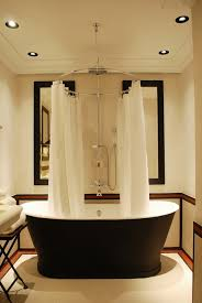 Stunning BathroomLove The Striking Black Bathtub  The Circular - Luxury bathrooms london
