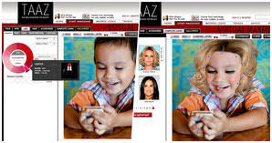 taaz is an excellent makeup and hairstyle software