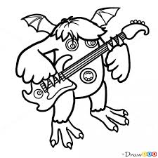 Small Picture How to Draw Riff Singing Monsters