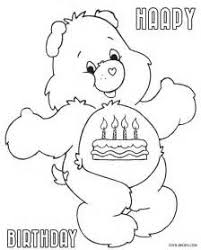 Small Picture Care Bears Coloring Pages Cheer Bear care bears coloring pages