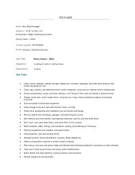 housekeeper resume skills equations solver cover letter house cleaning resume sle job