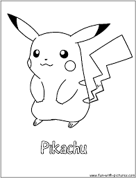 Pikachu Coloring Page Abby And Sam Coloring Pages Pinterest