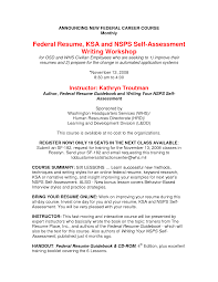 Federal Job Resume Samples Beautiful The Federal Resume Guidebook Contemporary Entry Level 16
