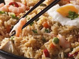 Sajikan nasi goreng kampung dengan tambahan kerupuk supaya lebih nikmat. Nasi Goreng Traditional Rice Dish From Indonesia Southeast Asia