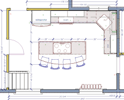 engaging floor plans island