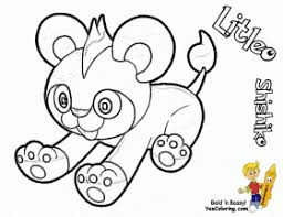Small Picture Pokemon X And Y Coloring Pages Printable Pokemon Color Pages