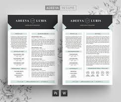 Modern Resume Template 2013 Modern Resume Template Cv Template Adeeva Lubis