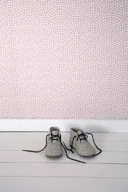 Little Dutch Wallpaper Waves Pink Cheer Up A Bland Wall In Your