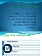 essay on illiteracy in literacy millennium  literacy in