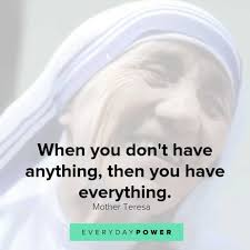 100 Quotes By Mother Teresa On Kindness Love Charity 2019