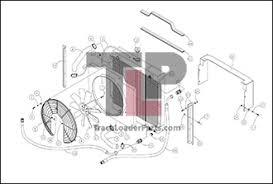 terex r190t oem parts diagrams diagram 2 2a radiator and oil cooler