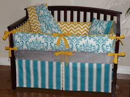 wonderful bedroom decoration using turquoise bed sheets casual baby nursery room decoration with rectangular mahogany