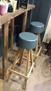 image 0 rustic wooden bar stools uk bespoke stool kitchen