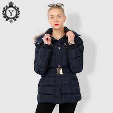 Designer Winter Jackets Coutudi Designer Winter Women Slim Thick Warm Stylish Long Jacket Coats Lady With Fur Hooded Belt High Quality Down Jackets Buy Ladies Jackets And