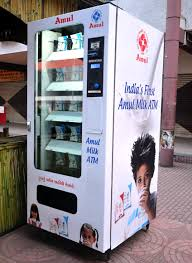 Vending Machines In India Extraordinary Amul Launches India's First Milk ATM Rediff Business