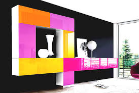 Livingroom Wall Mounted Tv Unit Designs Living Room Modern Cabinet