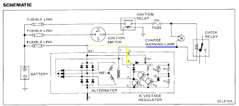 wiring diagram for alternator with internal regulator Ford External Voltage Regulator Wiring Diagram externally regulated delco alternator wiring diagram ford voltage regulator wiring diagram