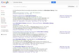 A Google Scholar Writing And Research In The Sciences Research
