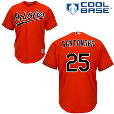 Majestic Replica Jersey Size Chart Majestic Replica Anthony Santander Youth Orange Mlb Jersey