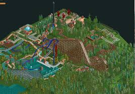 Amusement Park Design Game Started My First Amusement Park In Openrct2 Whoo Album