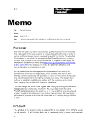 Memo Proposal Format Best Photos Of Professional Business Memo Template
