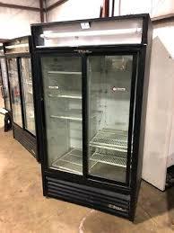used true refrigerator true used 2 door sliding glass refrigerator cooler used true 2 door glass