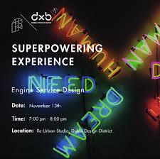 Engine Service Design Superpowering Experience