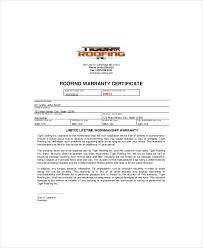 General Contractor Warranty Letter Template