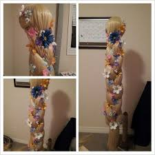 how to make this awesome rapunzel wig