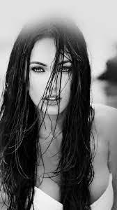 Megan Fox Bw Hot Dark Swim Bikini Model ...